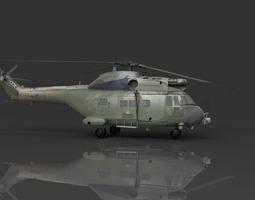 RAF Puma HC1 Helicopter 3D Model