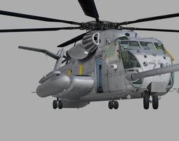 sikorsky ch-53e super stallion us marines 3d model max 3ds fbx c4d