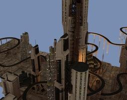 Solar Star City 3D model