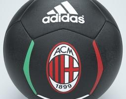 3D Ac milan football