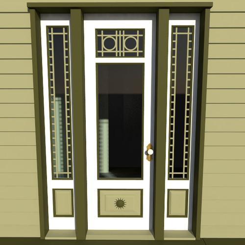 Victorian Front Door3D model