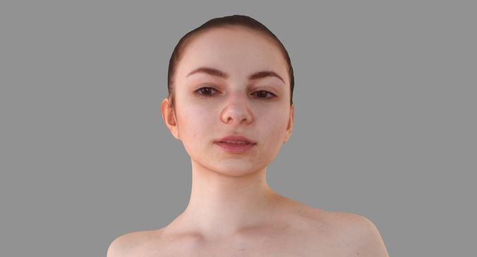 nude woman sitting 3d model max obj mtl 3ds fbx stl abc 1