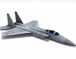 F-15 Eagle 3D Model