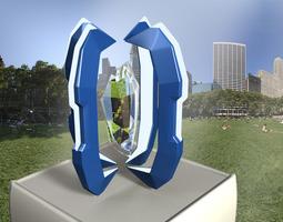 3D asset Tech Device