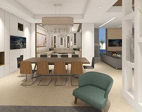 3D living rooms