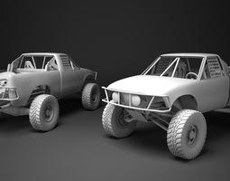 Custom Pickup 3D asset