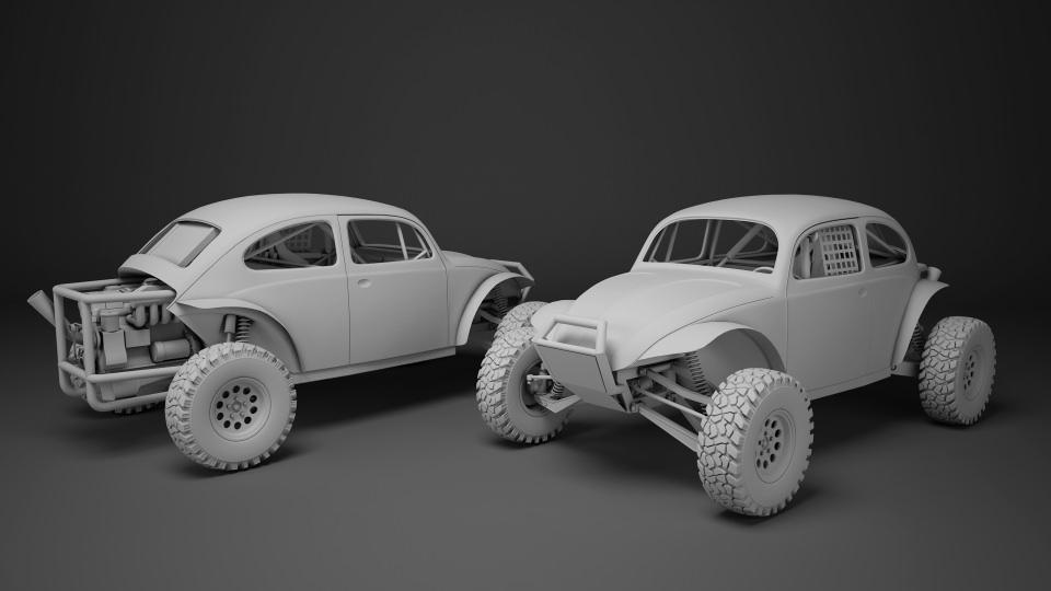 3d model off road racing cars collrction vr ar low poly max obj fbx. Black Bedroom Furniture Sets. Home Design Ideas