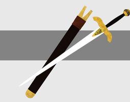 Kingdom Sword 3D model