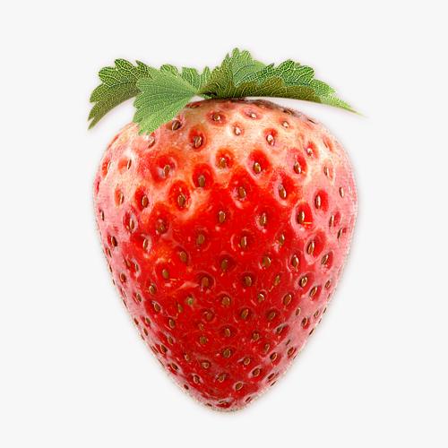 strawberry 3 3d model max obj fbx 1