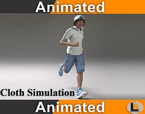 jogging male 2 3D asset