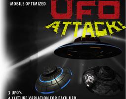 UFO Attack 3D Model