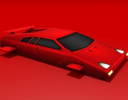 crimson 3d model max obj 3ds fbx dxf