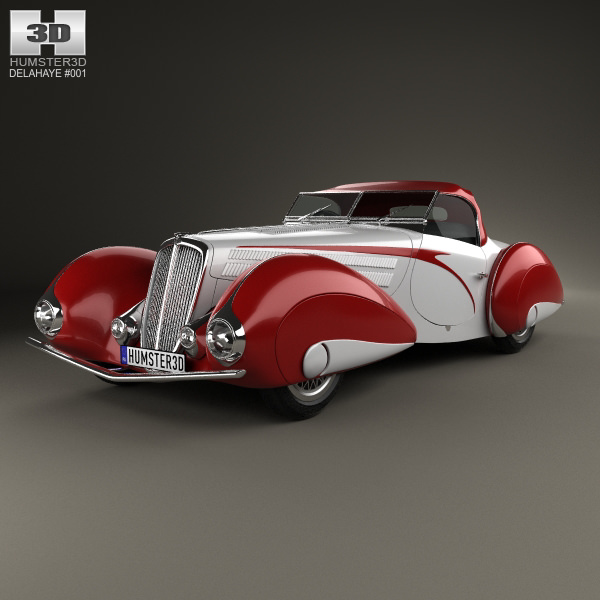 Delahaye 135M Figoni and Falaschi Convertible 1937