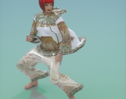 Chinese Outfit 3D Model