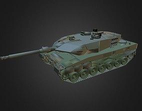 3D model German Main Battle Tank Leopard II A6