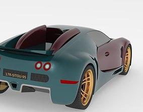 Bugatti Veyron 3D Mode