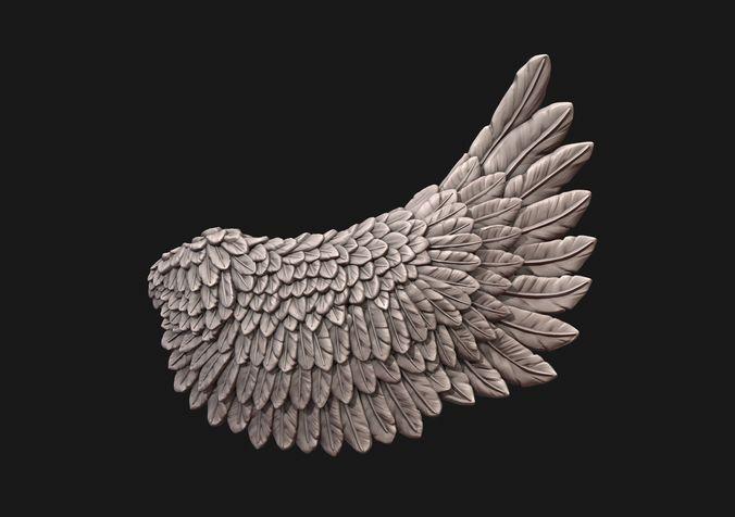 wings 3d model obj mtl fbx stl blend sldprt sldasm slddrw 1