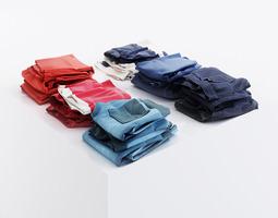 various pants 3d model