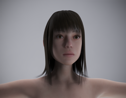 Effy for Gensis 2 Female 3D Model