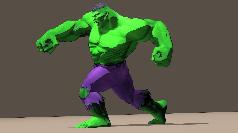 Hulk Marvel Vs Capcom 3 Rigged for poser