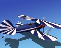 Waco YMF-5 V06 3D model
