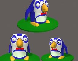 Penguin Cartoon 3D model