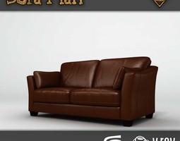 3D asset Georgia Sofa