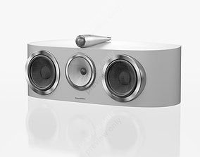 Bowers and Wilkins HTM1 D3 Satin White 3D