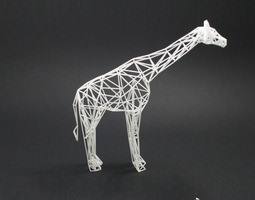 Digital Safari- Giraffe 3D Model