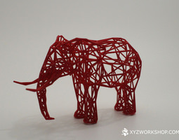 Digital Safari - Elephant Small 3D Model