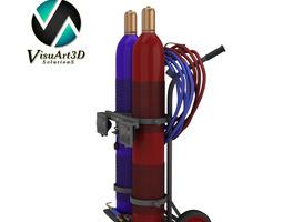 welding setup 3D Model