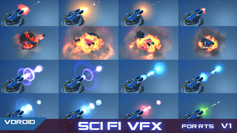 VFX For Sci-Fi RTS v1 | 3D model