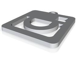 3D printable model Keychain - Instagram Logo