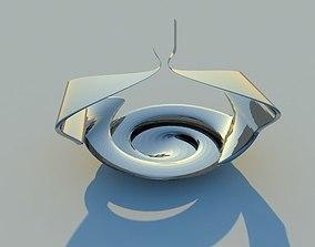 Modern sculpture infinity 3D model