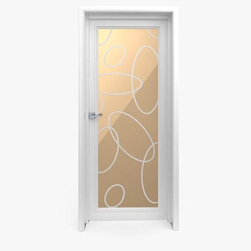 Glass Door 53D model
