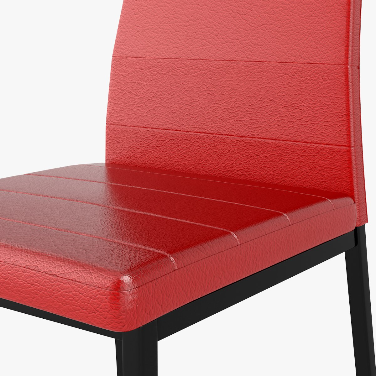 Red Leather Chair 3d Model Max Obj Fbx C4d Cgtrader Com