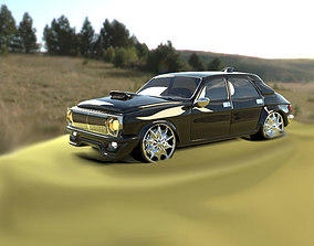 3D model Tuning Volga