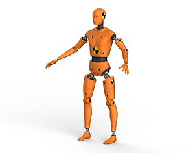 Crash Test Dummy Robot Android 3D model