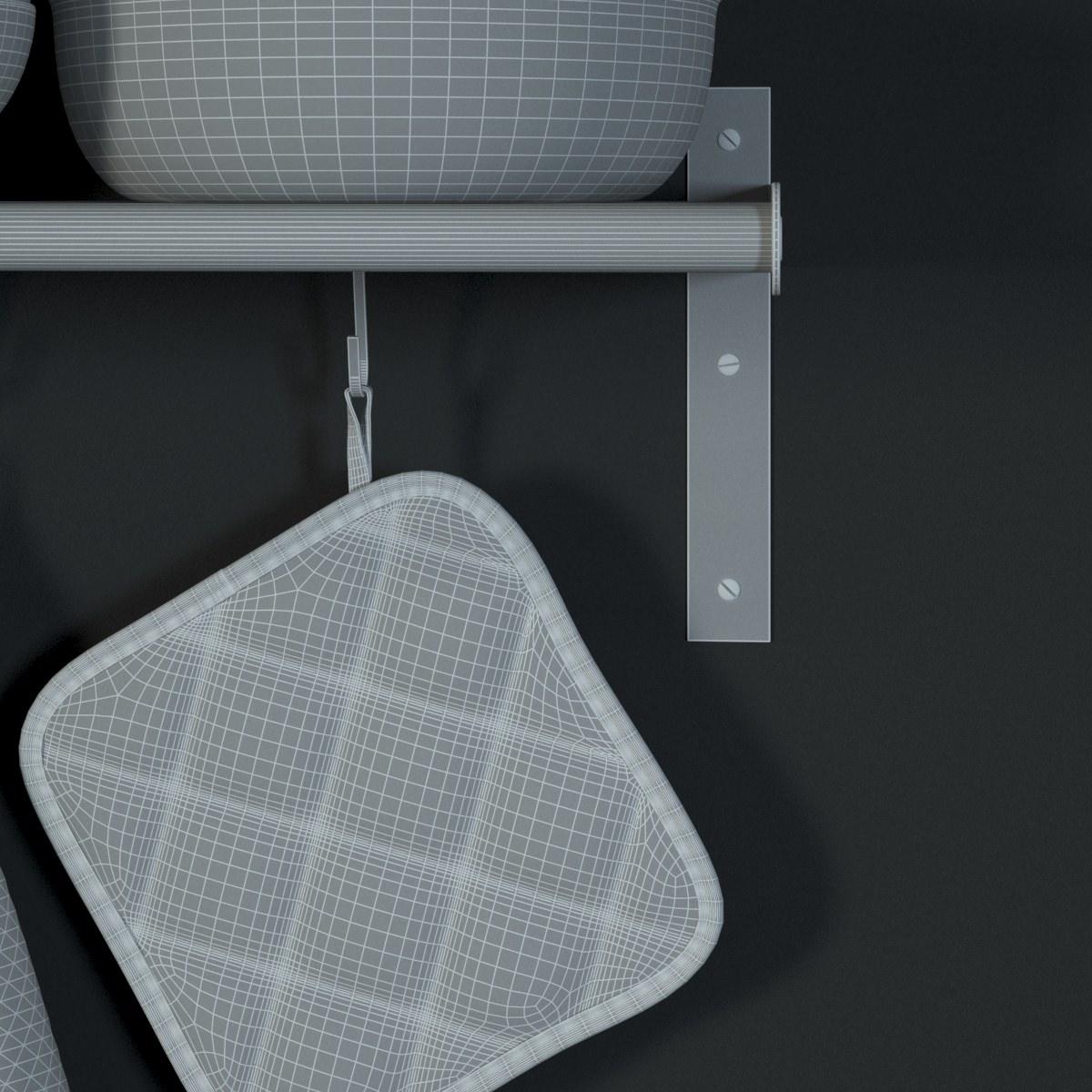 Ikea Unterschrank Herd Metod ~ IKEA Grundtal Wall Shelf 3D Model max  CGTrader com