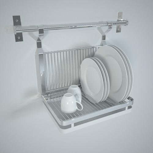 Ikea Küchenplaner Eckschrank ~ ikea grundtal dish drainer 3D Models  CGTrader com