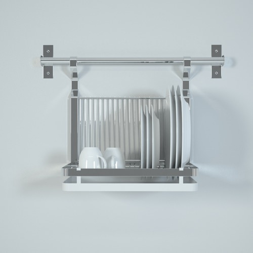Vitrine Detolf Ikea Occasion ~ ikea grundtal dish drainer 3D Models  CGTrader com