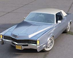 3D model Eldorado Coupe 1968