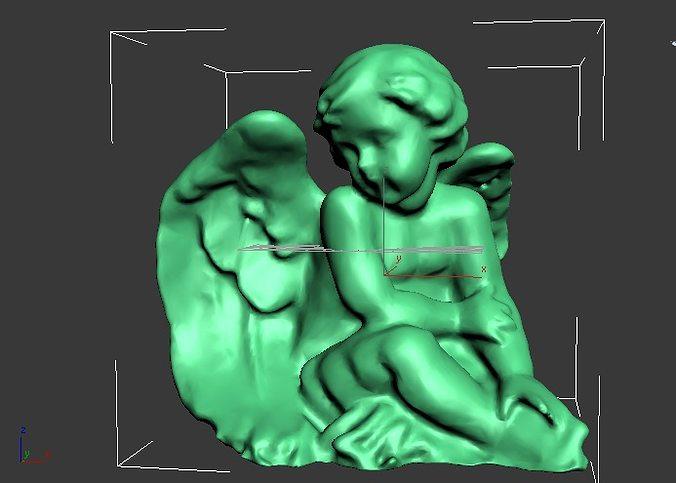 the cherub 3d model stl 1