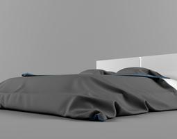 Modern Bed 3D model furniture