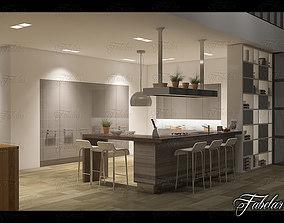 scene Kitchen 3D model
