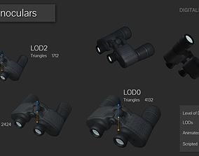 3D asset Binoculars