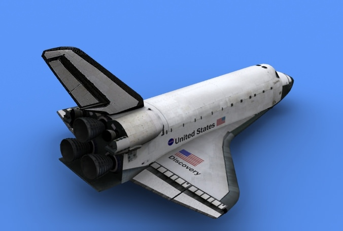 discovery space shuttle model - photo #42