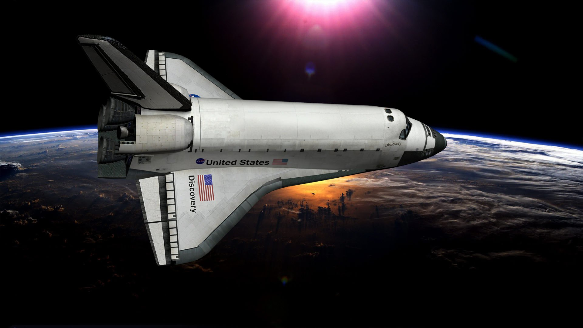 discovery space shuttle model - photo #17