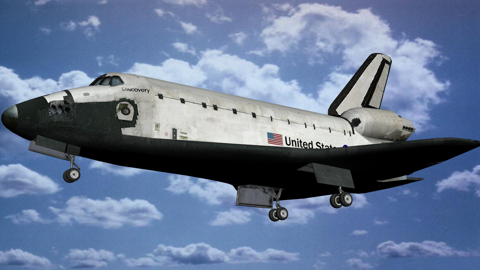discovery space shuttle model - photo #45