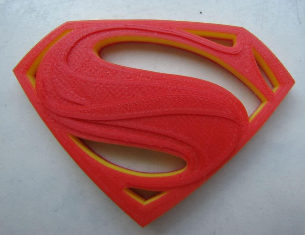 how to make superman logo